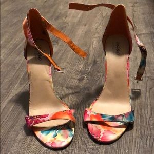 Mossimo Floral Heels